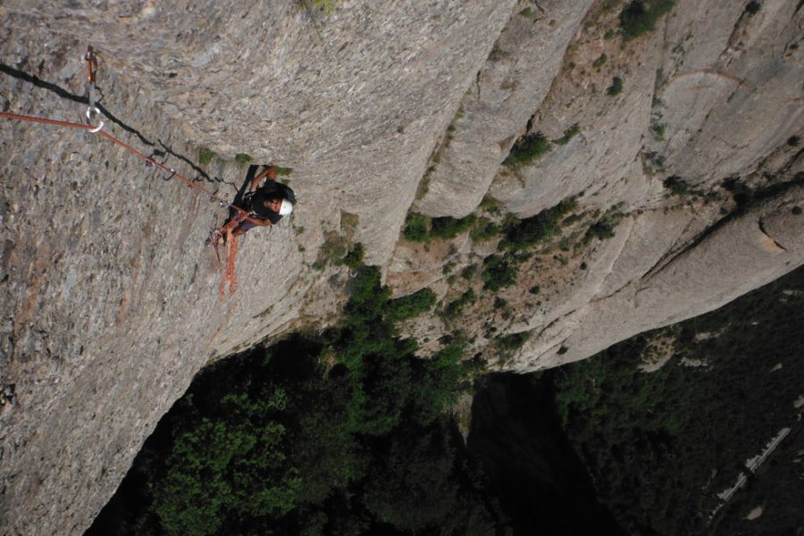 Easy Rider a la Paret de l'Aeri, Montserrat, Espagne 2