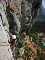 Via Africa a la Paret del Grau, Coll de Nargo, Espagne 7
