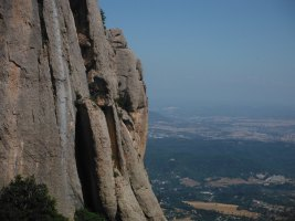 Easy Rider a la Paret de l'Aeri, Montserrat, Espagne 8
