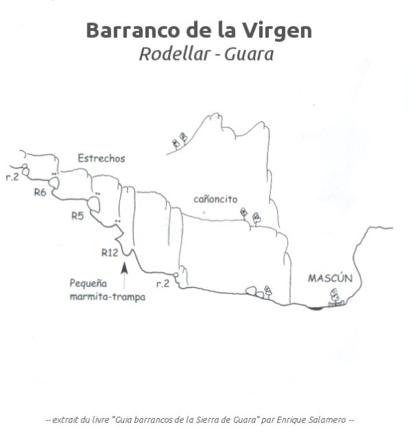 Barranco de la Virgen, Sierra de Guara 2