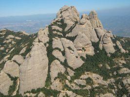 Stromberg a la Gorra Frigia, Montserrat, Espagne 11