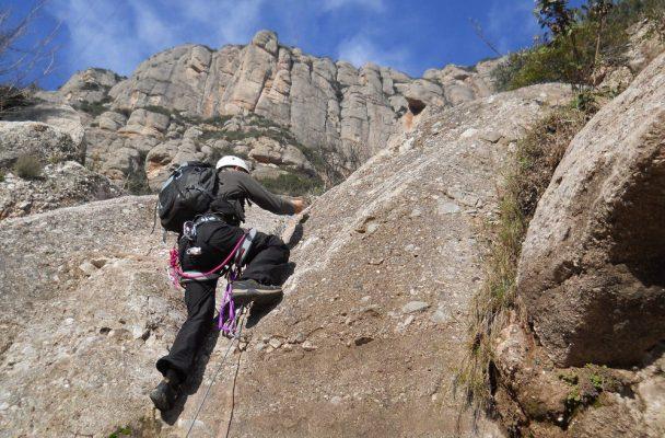 Torrent de Vallmala, Montserrat 4