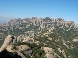 Stromberg a la Gorra Frigia, Montserrat, Espagne 8
