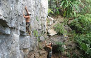 Butterfly Valley, Sport Climbing, Cat Ba Island, Vietnam 30