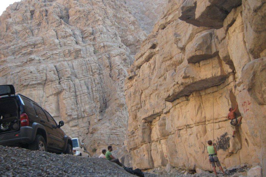 Transition, Junction & Nearside Walls, Ras Al Khamaih, Émirats 2