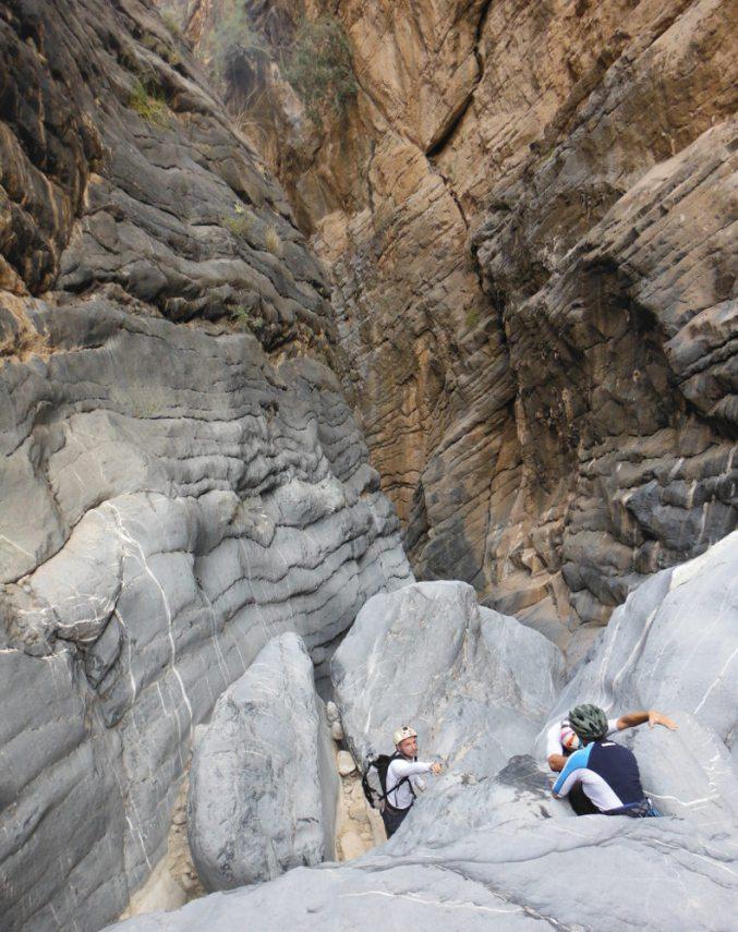 Snake Gorge Canyon, Jebel Akhdar 50