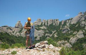 Drac Gos a l'agulle de Can Jorba, Montserrat, Espagne 20