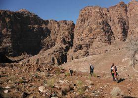 Wadi Tibn, Wadi Sabra, Petra, Jordanie 11