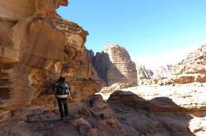 Jebel Mayeen, Wadi Rum, Jordanie 12
