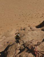 Orange Sunshine, Burdah Rock, Wadi Rum, Jordanie 12