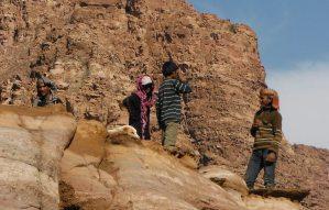 Wadi Tibn, Wadi Sabra, Petra, Jordanie 14
