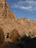 Wadi Tibn, Wadi Sabra, Petra, Jordanie 13
