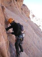 Orange Sunshine, Burdah Rock, Wadi Rum, Jordanie 15