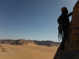 Orange Sunshine, Burdah Rock, Wadi Rum, Jordanie 19