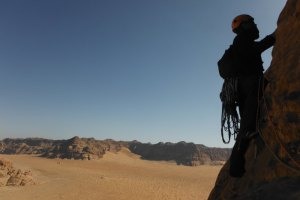 Orange Sunshine, Burdah Rock, Wadi Rum, Jordanie 36