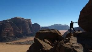 Jebel Mayeen, Wadi Rum, Jordanie 19