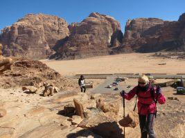 Jebel Mayeen, Wadi Rum, Jordanie 1