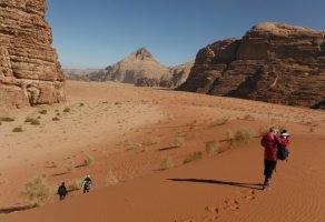 Khazareh Canyon, Jebel Um Ishrin, Wadi Rum, Jordanie 3