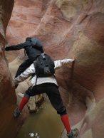 oppositions sur rocher coloré