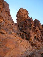Rakabat Canyon, Jebel Um Ishrin, Wadi Rum, Jordanie 9