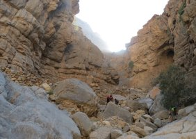 Leopard Canyon, Wadi Qada'a, Ras Al Khaimah, Émirats Arabes Unis 9