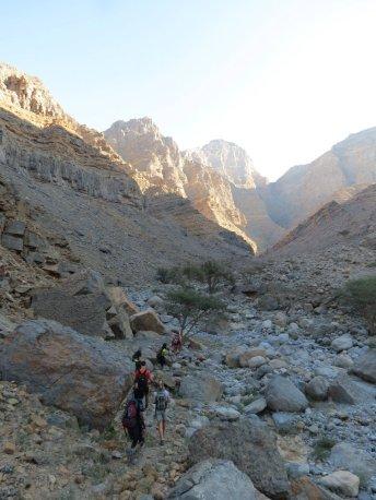 5. remonter le lit du wadi