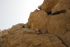 3Somes climbing, Ras Al Khaimah, Émirats 6