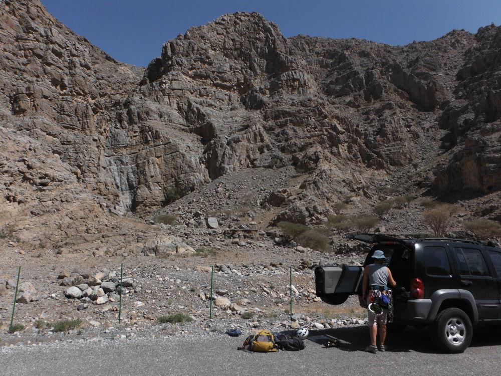 1. parking sur wadi Shah