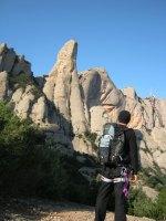 Via normal al Cavall Bernat, Montserrat, Espagne 2