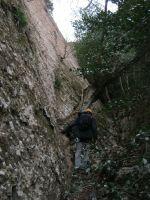 Esquena del Diable a la Roca dels Onze, Montserrat, Espagne 5