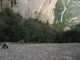 Esquena del Diable a la Roca dels Onze, Montserrat, Espagne 6