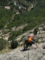 Via Alimera a la Codolosa, Montserrat, Espagne 7