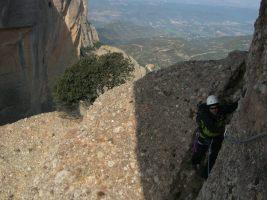 Via normal al Cavall Bernat, Montserrat, Espagne 8