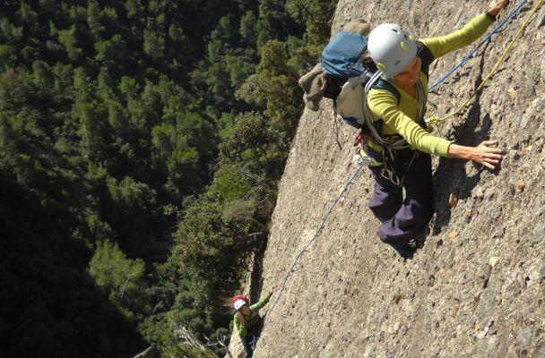 Bego-Miguel-Kush a Can Jorba, Montserrat, Espagne 2