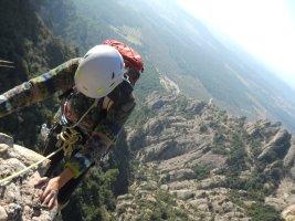 Esparraguera a la Roca Gris, Montserrat, Espagne 10