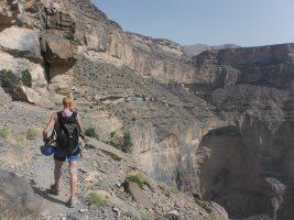 Ferrata du Jebel Shams, Jebel Akhdar 28