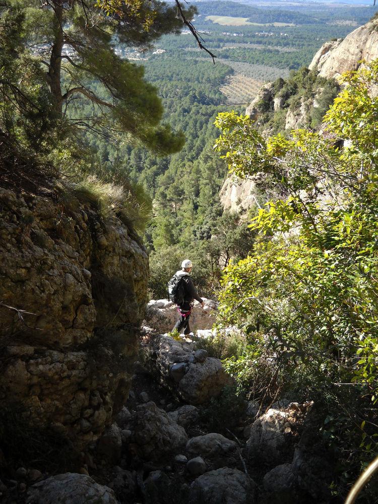 Canal de l'Artiga alta, Montserrat 13