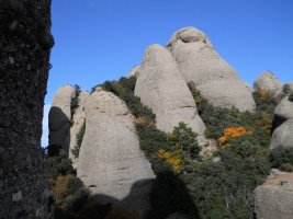 Via Iglesias-Casanovas a la Bessona Inferior, Montserrat, Espagne 14