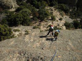 Bego-Miguel-Kush a Can Jorba, Montserrat, Espagne 14