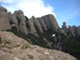 G.A.M a la Portera Petita, Montserrat, Espagne 14