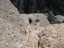 Esparraguera a la Roca Gris, Montserrat, Espagne 17