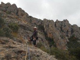 L'avi Trepador a la Codolosa, Montserrat, Espagne 18