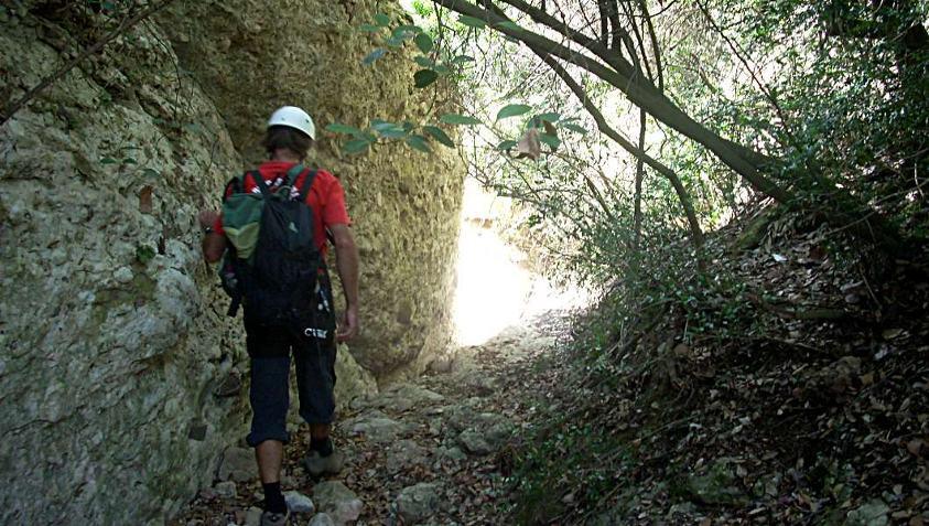 Barranco Canal Roja, Montserrat 3