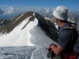 Pico Posets por la Cresta Espadas, Benasque, Aragon, Espagne 19