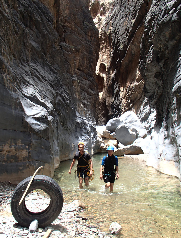 Snake Gorge Canyon, Jebel Akhdar 26