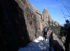 Rantanplán a la Magdalena Inferior, Montserrat, Espagne 2