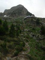 Pico Posets por la Cresta Espadas, Benasque, Aragon, Espagne 1