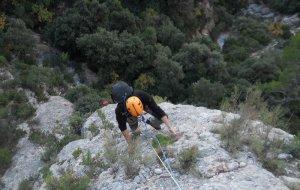 Esparraguera a la Roca Gris, Montserrat, Espagne 2