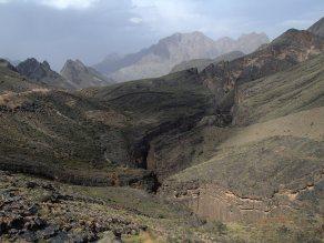 Snake Gorge vue d'en haut