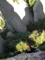Aitor a l'Arbret, Agulles, Montserrat, Espagne 4